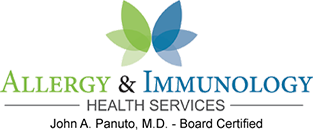 Allergy & Immunology Health Services Footer Logo